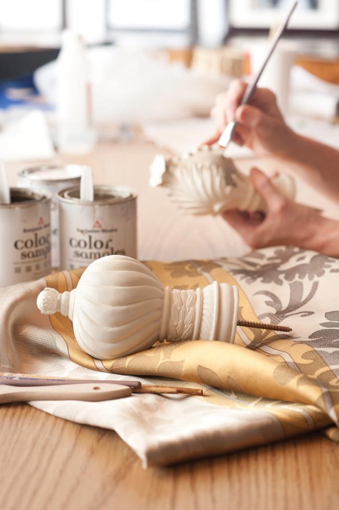 Hand Painting Design Arts decorative hardware
